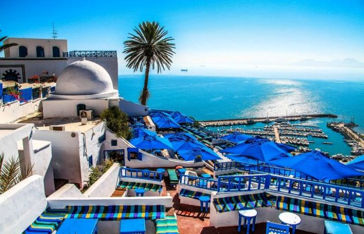 Get the blues in Sidi Bou Said