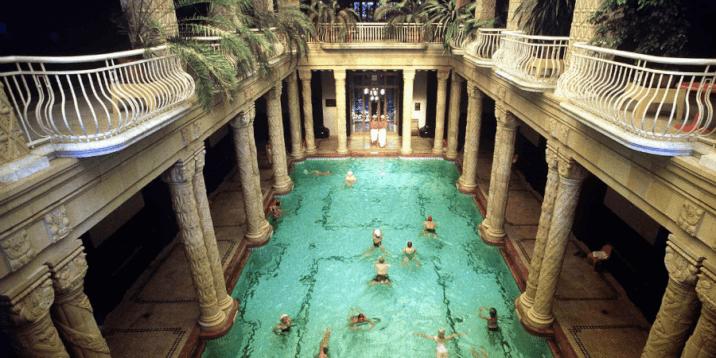 layover in budapest- gallet bath