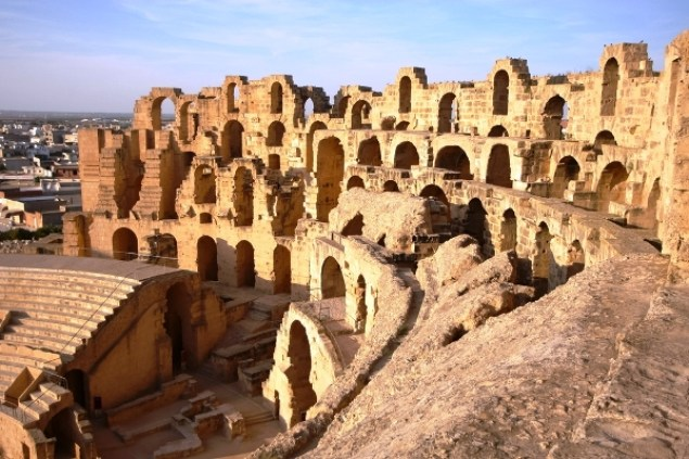 Tunisian Temple Run in Carthage
