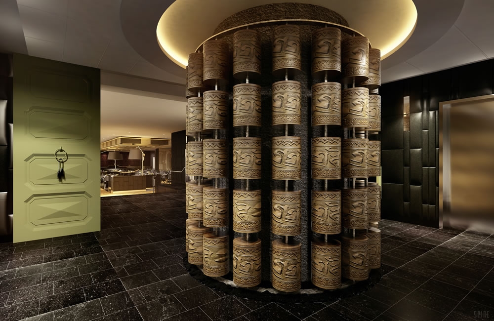 Image result for regent seven seas explorer Tibetan Prayer Wheel
