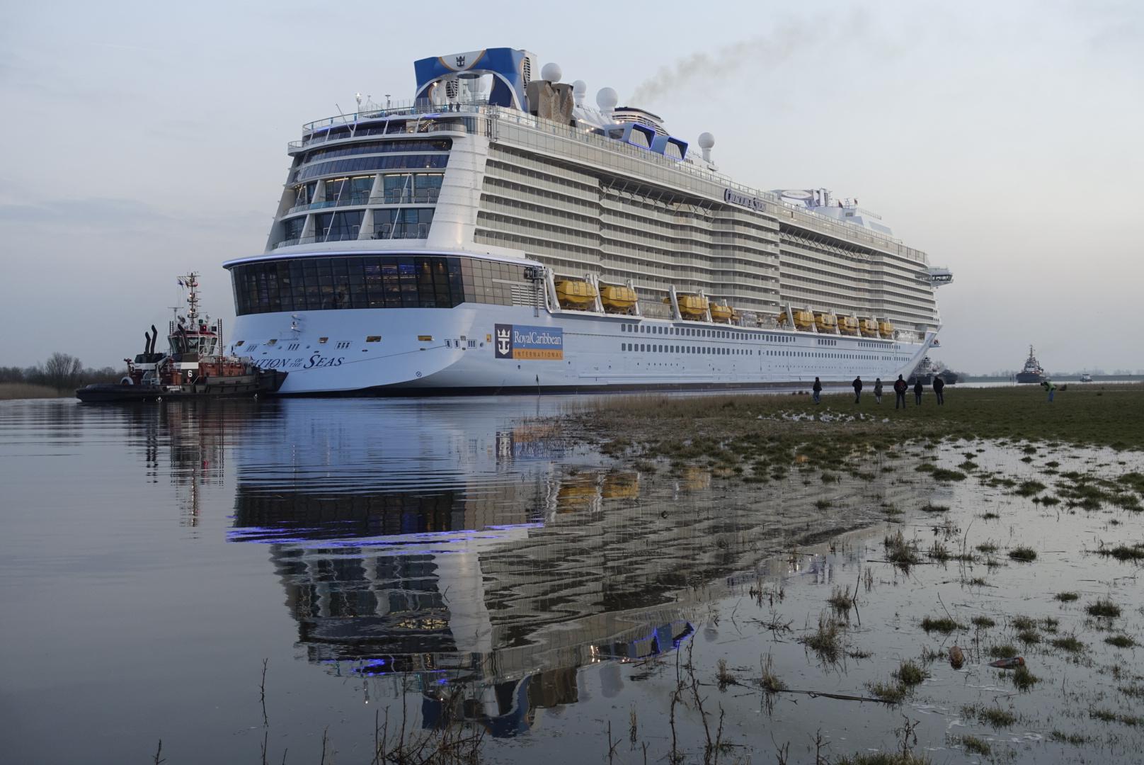 Ovation of the Seas leaves the Papenburg shipyard – World of Cruising Magazine