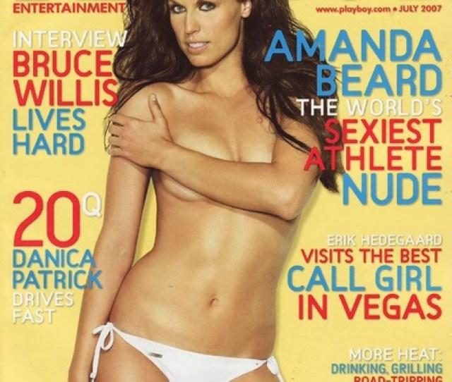 Amanda Beard Playboy Cover