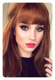 gorgeous wispy bangs perfect