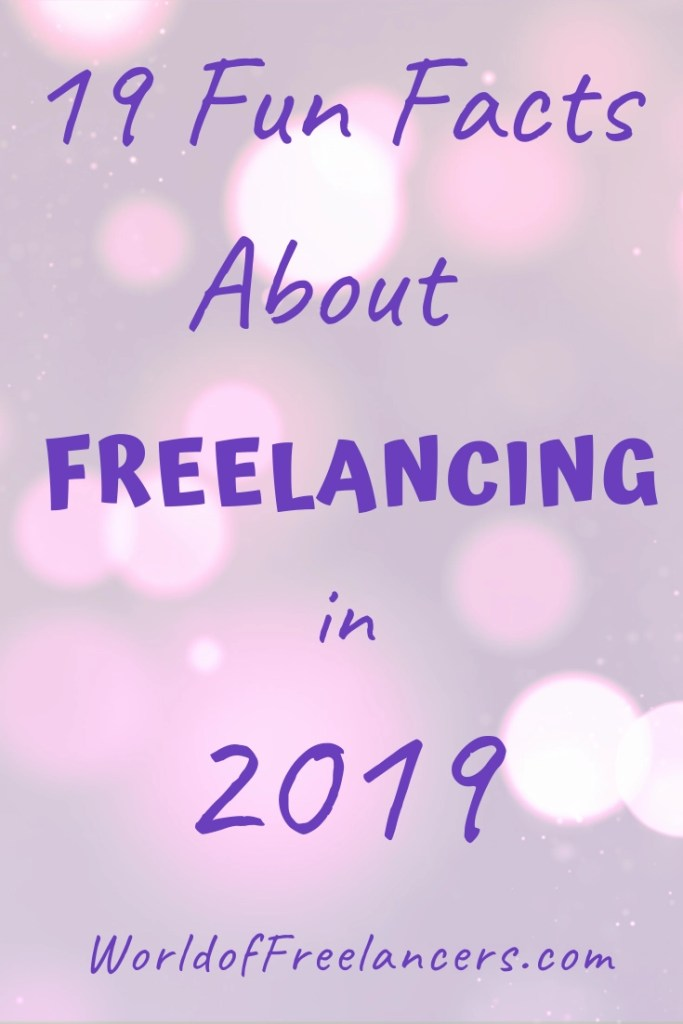 19 Freelance Statistics from Freelancing in America 2019 Pinterest image
