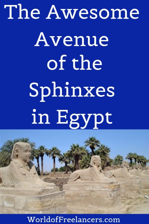 The Awesome Avenue of the Sphinxes in Luxor, Egypt