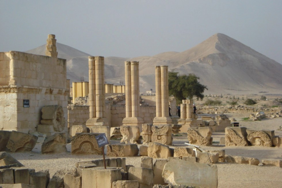 Beit She'an ruins which you should see on a trip to Israel