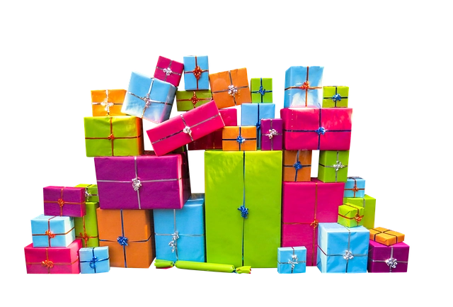 Dozens Of Colorfully Wrapped Packages In This Holiday Scopist Gift Guide