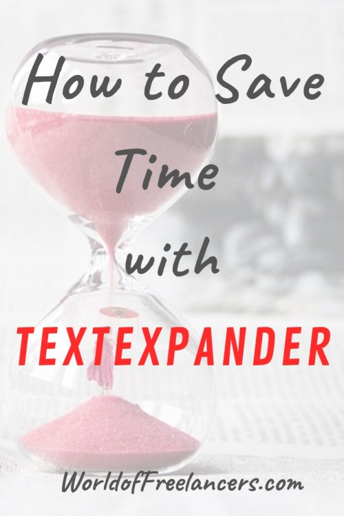 How to Save Time with TextExpander Pinterest image
