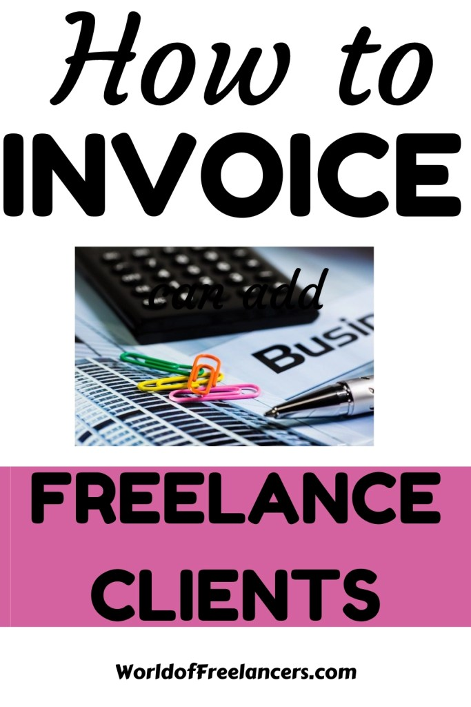How to invoice freelancer clients