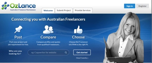 Ozlance is one of the best job websites to find Australia and New Zealand freelance work online