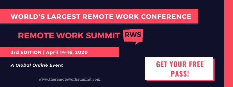 Remote Work Summit 2020 - World's largest remote work conference