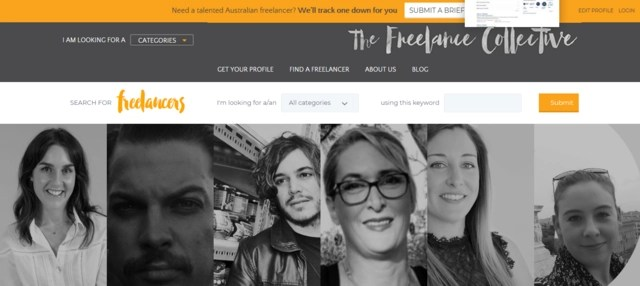 The Freelance Collective is one of the best job websites for online jobs in Australia