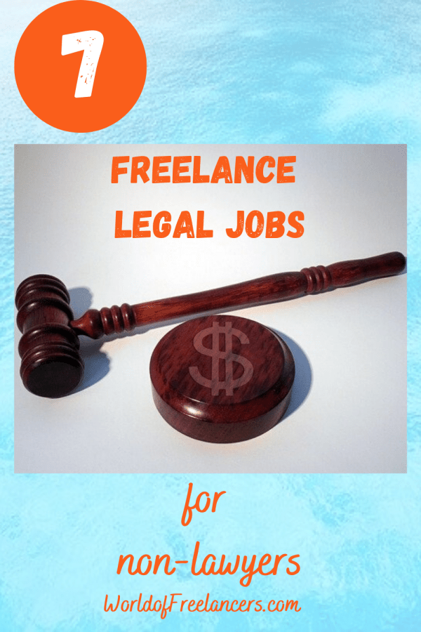 7 freelance legal jobs for non-lawyers