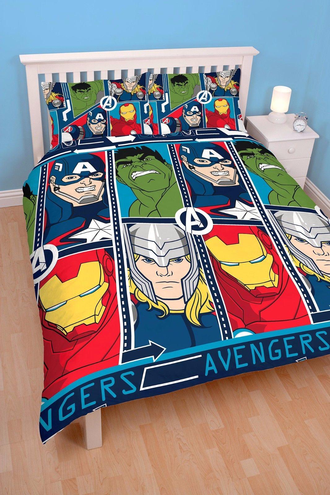 Wholesale Marvel Avengers Tech Double Duvet Cover