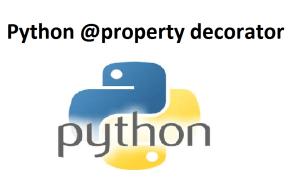 Python @property decorator