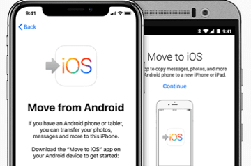 How to Move Contacts, Apps, Photos, and Videos, from Android to iPhone