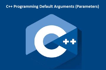 C++ Programming Default Arguments (Parameters)