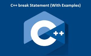 C++ break Statement
