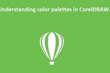 Understanding color palettes in CorelDRAW
