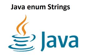 Java enum Strings