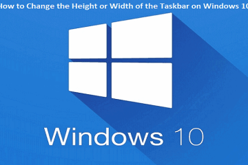How to Change the Height or Width of the Taskbar on Windows 10