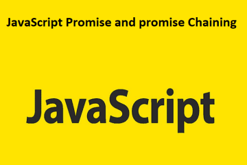 JavaScript Promise and promise Chaining