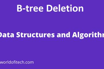 B-tree Deletion