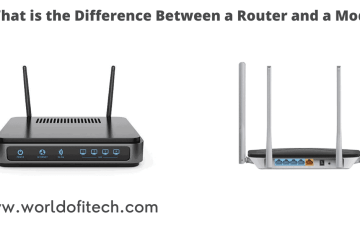 Difference Between a Router and a Modem