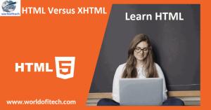 HTML Versus XHTML