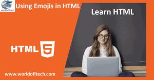 Using Emojis in HTML