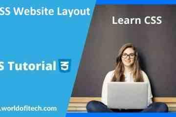 CSS Website Layout