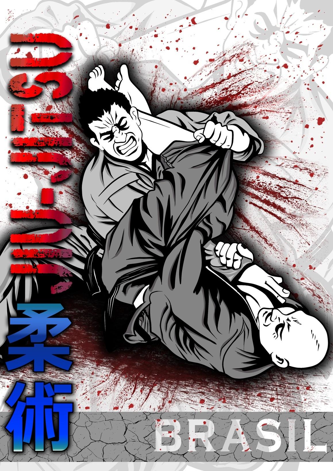 Jiu-jtsu com sangue