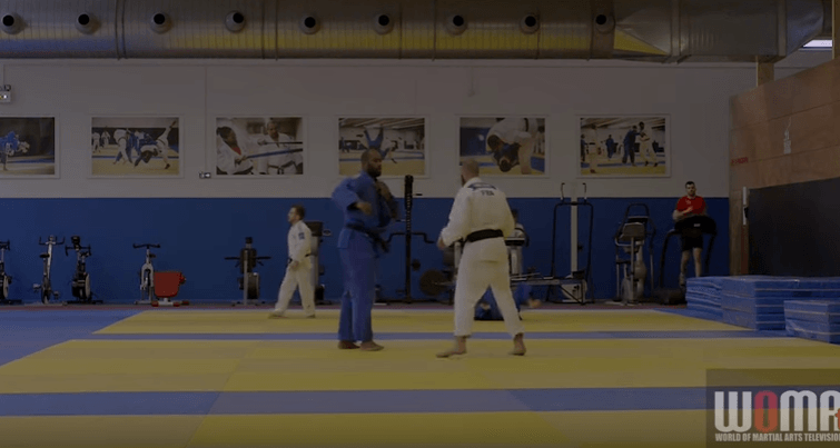 Teddy Riner Judo Training
