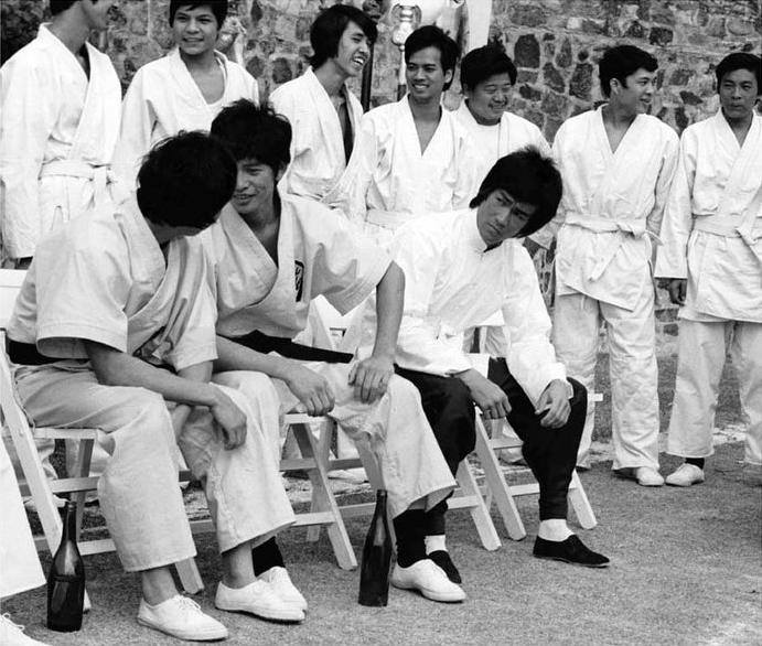 Enter The Dragon behind the scenes
