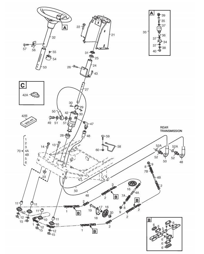 Scotts elite 16 reel mower assembly