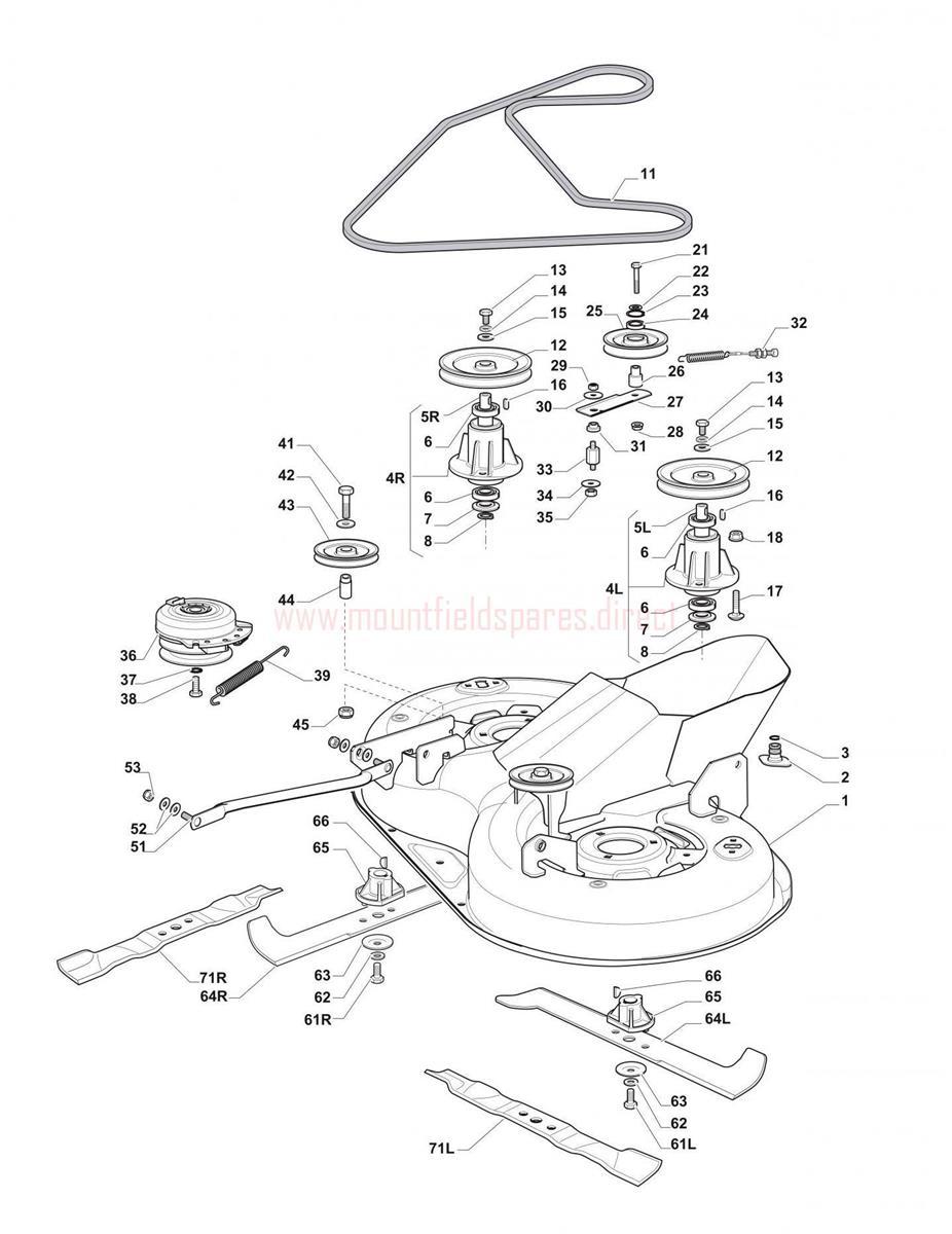 medium resolution of cutting plate assembly mountfield 1430h 3000sh 20120201 1430h john deere drive belt diagram 64l belt diagram