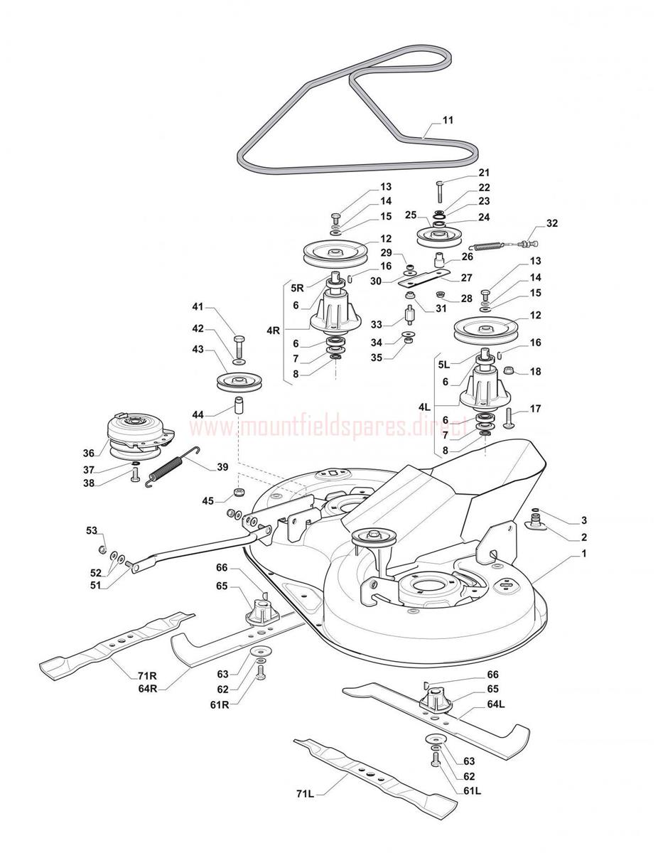 hight resolution of cutting plate assembly mountfield 1430h 3000sh 20120201 1430h john deere drive belt diagram 64l belt diagram