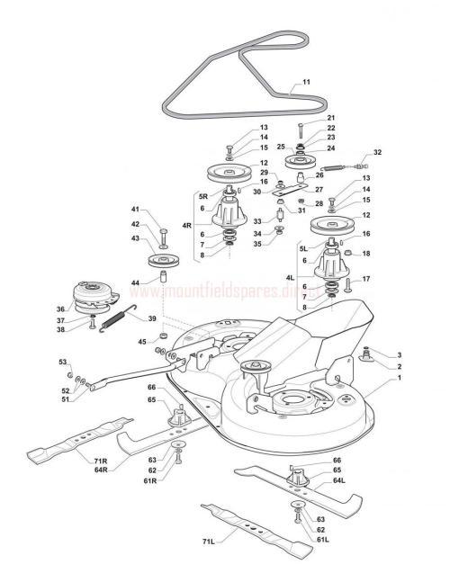 small resolution of cutting plate assembly mountfield 1430h 3000sh 20120201 1430h john deere drive belt diagram 64l belt diagram