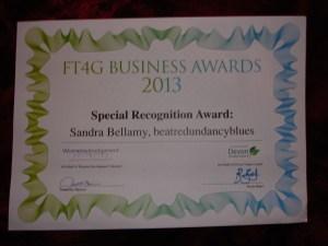 Beat Redundancy Blues Special Recognition Award