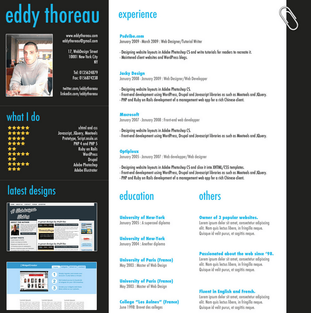 classic-proffesional-resume-template