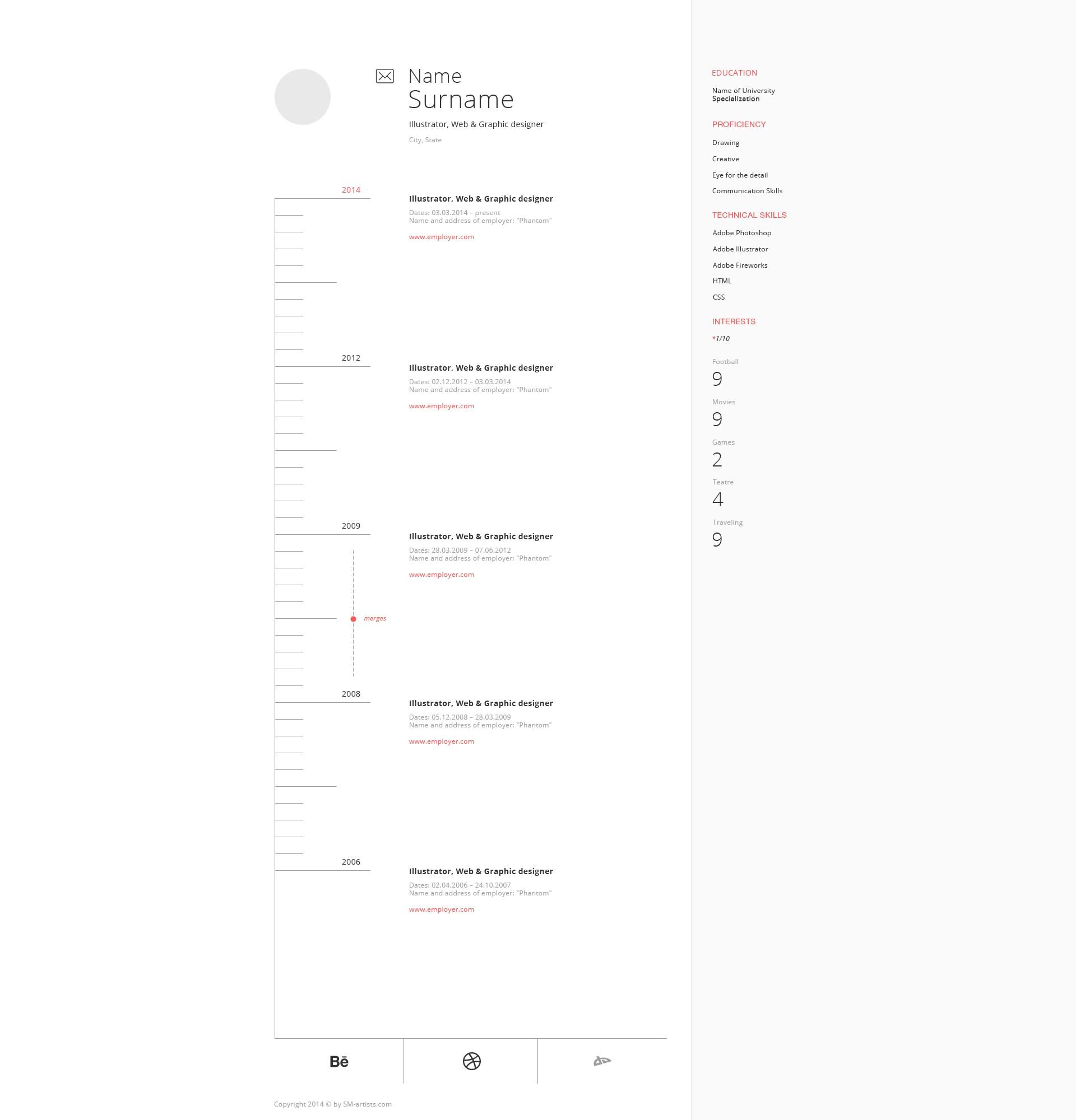 artists_resume_template_set_WebTemplate