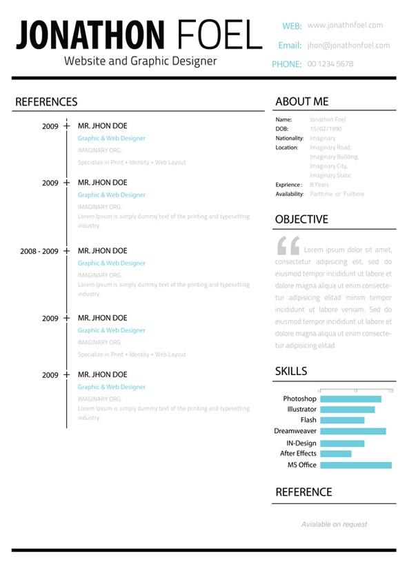 minimalistic-multipage-resume-page2