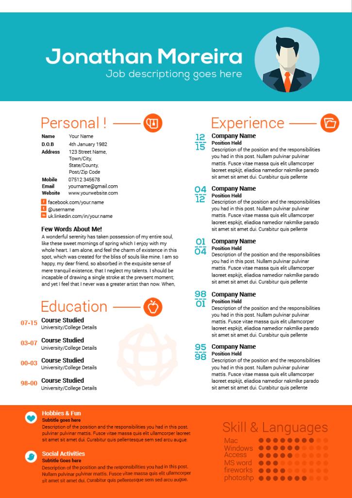 Professional-curriculum-vitae-template_resume