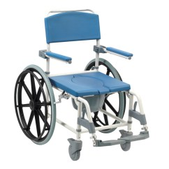 Shower Wheel Chair Childrens Bouncy Aston Commode Mobile World Of Scooters