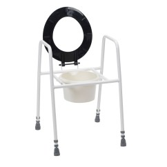 Stool Chair For Toilet Papasan Cushion Cheap Stacking Commode World Of Scooters Manchester