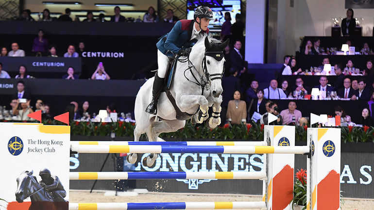 Olivier Philippaerts shines brightest in the HKJC Trophy   World of Showjumping