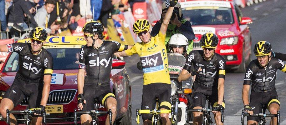 Top 5 van de Tour de France