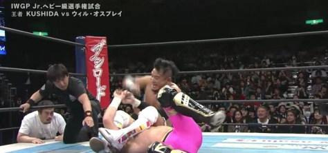 Kushida vs osprey - NJPW Invasion Attack 2016