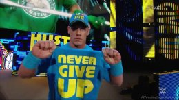 John Cena 3- Cry into this Geekdom101 ... You will never win, bully / harress me and create lies and bullshit all you want ... you could have just said sorry. I will never give up as I am Talent less, Thanks for the motivation geekdom101!