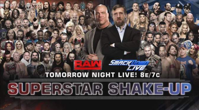WWE Superstar Shakeup 2017- Full list of who moved where